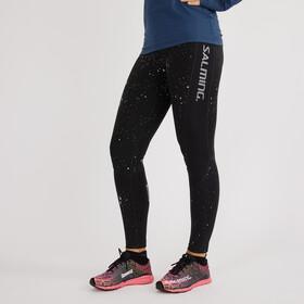 Salming Reflective Spodnie do biegania Kobiety czarny
